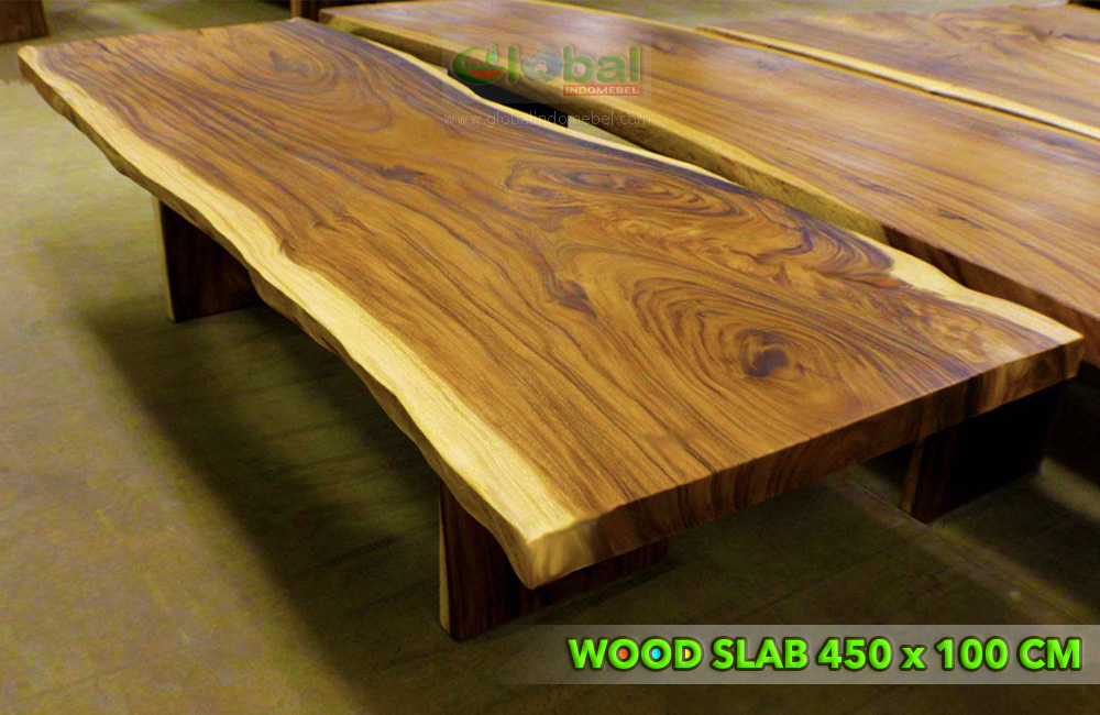 Suar Wood Conference Table Slab 450 X 100 Cm Suar Wood Furniture